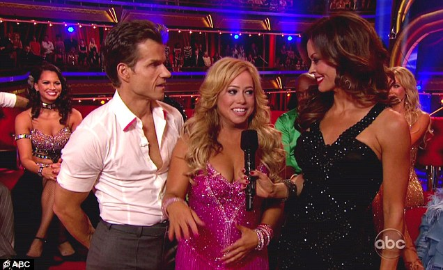 Viewers favourite: Sabrina was the 13th competitor to take part in the show after being voted in by viewers