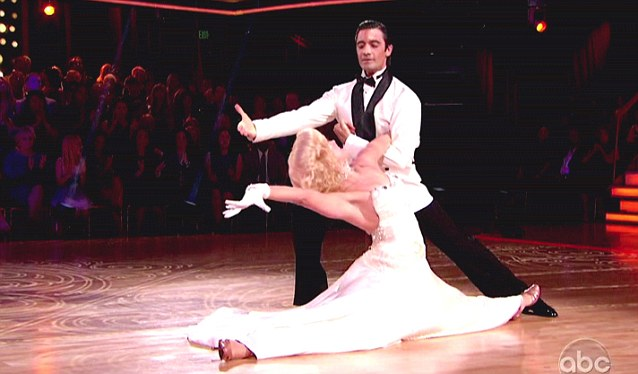 Praise: Gilles Marini and Peta Murgatroyd won extensive acclaim for their sophisticated number