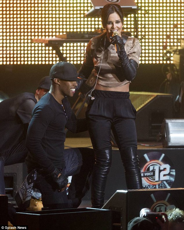 In love: Cheryl danced with her boyfriend Tre Holloway in the show