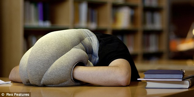 A student's dream: Now pupils can catch up on their sleeps while pretending to hit the books