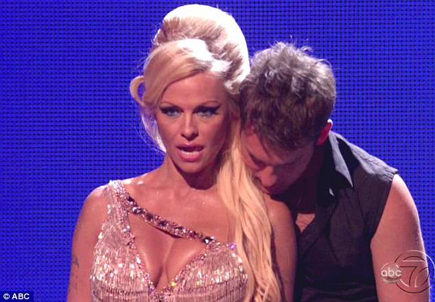 Elimination: Pamela Anderson and partner Tristan Macmanus were eliminated from Dancing with the Stars on Tuesday night