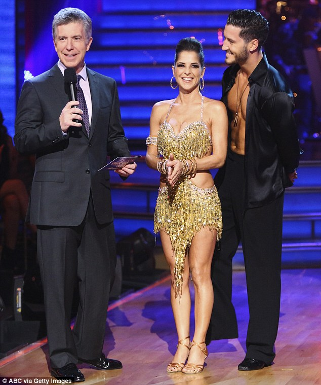Debut champion: Kelly Monaco was shown lacking confidence in her performance