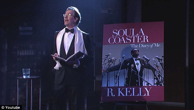 Soula coaster: Renowned actor Gary Oldman appeared on Jimmy Kimmel Live this summer to perform a dramatic reading of rapper R. Kelly's memoir