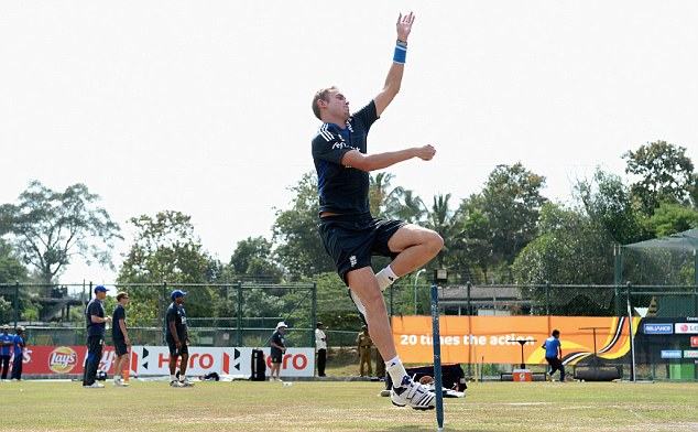 Bowled over: Broad has noticed the similarities between Kandy and Pallekele