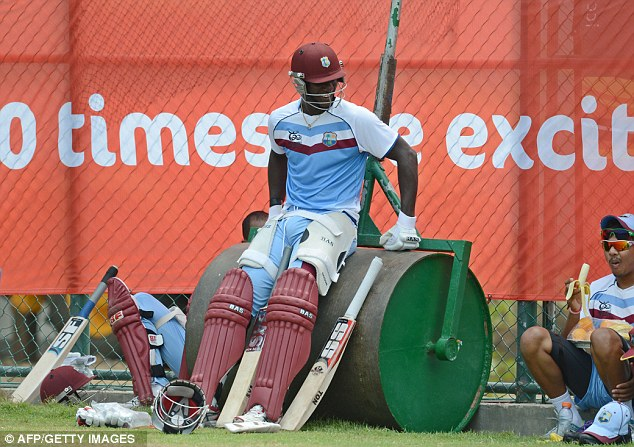 Waiting game: West Indies lost their only completed match of the tournament thus far