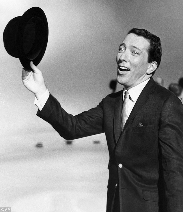 Timeless style: Andy Williams,  legendary singer of Moon River, has died aged 84 at his U.S. home