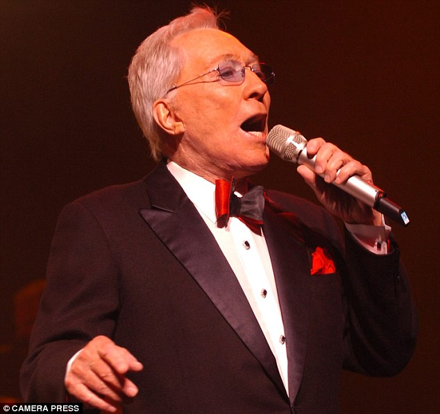 The show must go on: Andy Williams continued to perform while he fought cancer. He died on Tuesday at his home in Branson, Missouri, at the age of 84