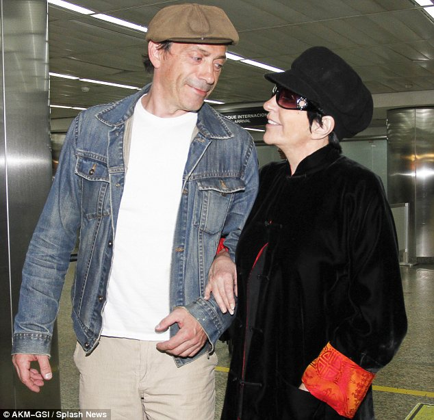 Hi Brazil: The actress and singer looked very excited to have landed in Sao Paulo