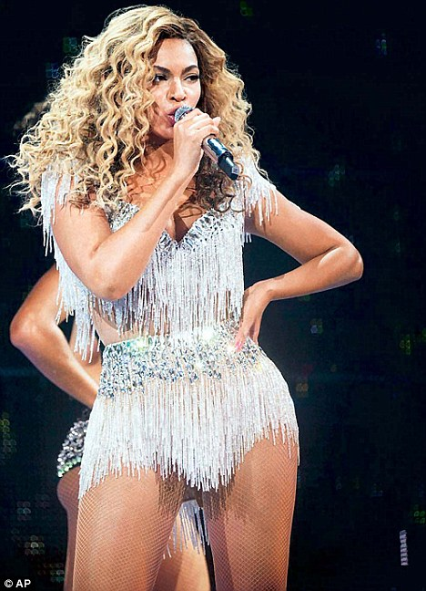 Glam: Beyonce performs at Revel in Atlantic City, N.J in May