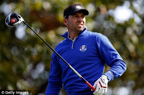 Fond memories: Sergio Garcia has fond memories of the Medinah course