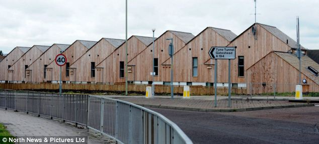 Sinclair Meadows in South Shields, South Tyneside is the UK's first carbon negative social housing street