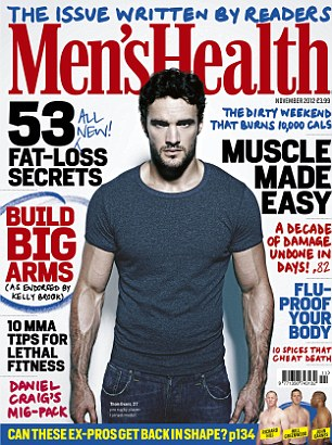 Read the full Thom Evans interview in the November issue of Men's Health, on sale Monday 1 October
