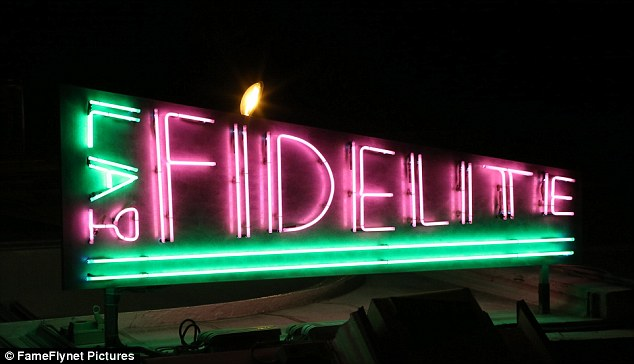 How ironic! Kristen dined at the La Fidélité restaurant in the French capital