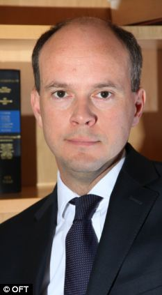 Claims: Clive Maxwell (pictured) Chief Executive of the OFT said competition does not appear to be working properly in the British car insurance market