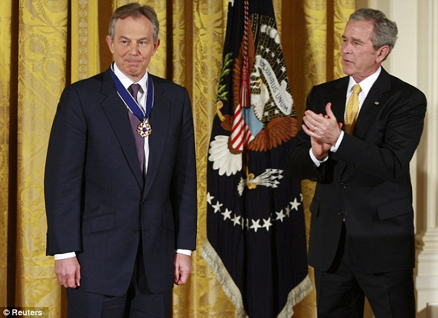 Iraq's long shadow: Blair still faces a lot of opposition, and around Europe many people shudder to recall his self-appointed role as George W. Bush's lapdog