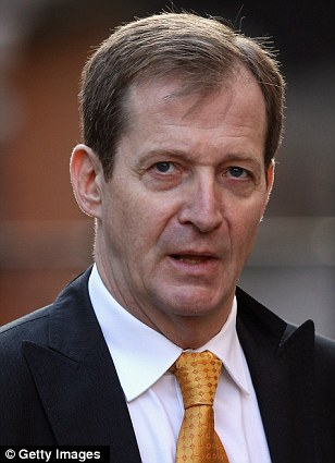 Master of spin: Blair came to rely heavily on his bullying communications chief, Alastair Campbell