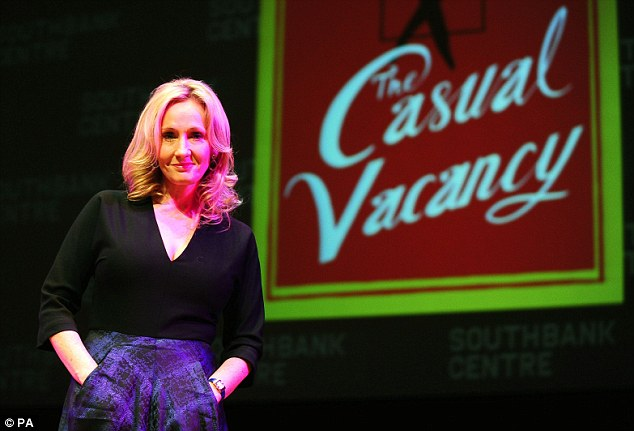 JK Rowling's first adult novel, The Casual Vacancy, which launched this week, draws on her unhappy youth in the village of Tutshill, Gloucestershire