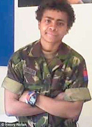 Fijian Lance Bombardier Lynette Pearce said she met the baby's father in the UK after joining the Army