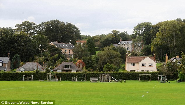 Tutshill, the small village on the Welsh English border that JK Rowling grew up in and has used as inspiration for her newest book 'The Casual Vacancy'