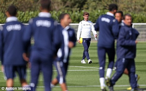 Tough times: Villas-Boas' training methods have been called into question