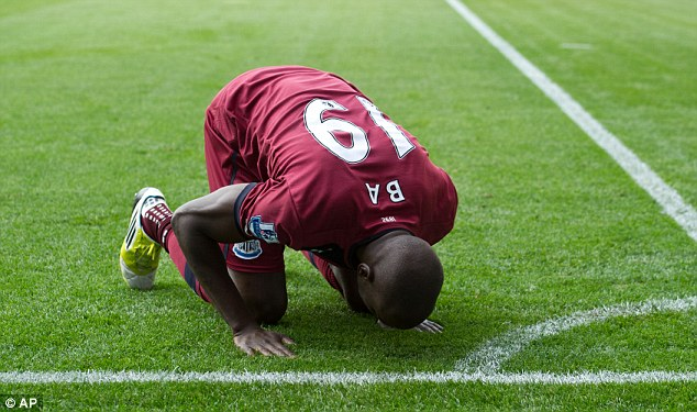 Make mine a double: Demba Ba hit two, making his goal tally for the season six goals from six games