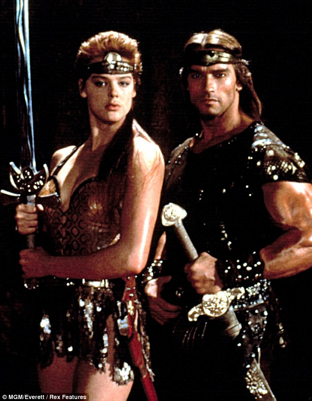 Cheating: Arnold Schwarzenegger has revealed that he cheated on his wife Maria Shriver with actress Brigitte Nielsen while the pair were filming Red Sonja in 1985