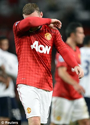 Impact: Ferguson was happy with the impact Wayne Rooney (pictured) brought