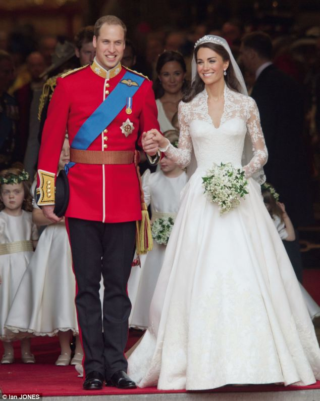 Michael Middleton had the eyes of the world upon him last April when he walked his daughter Kate down the aisle at Westminster Abbey where she married Prince Williams