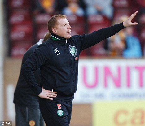 Form: Neil Lennon thinks Celtic have hit the top at the right time