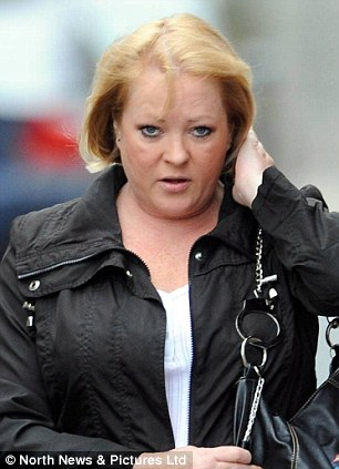 Maria Topp, has admitted breaching a restraining order at Newcastle Magistrates Court