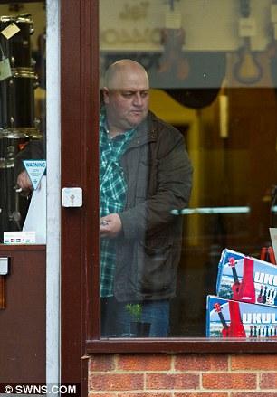 Euro millions jackpot winner, Adrian Bayford, opens his musical instruments store