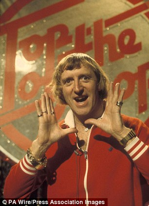 Fame: Savile when he was a DJ on Top Of The Pops