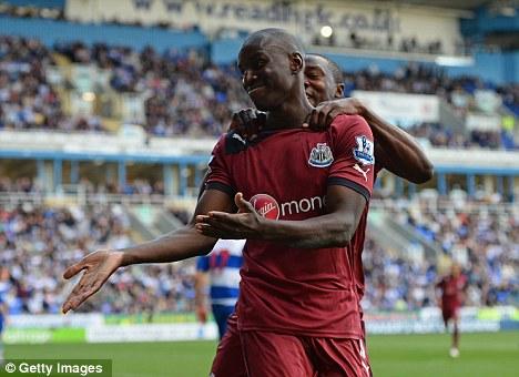 In form: Demba Ba is in fine fettle of late