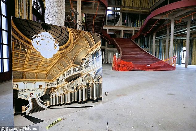 Grand Ambition: The gaudy mansion is only two-thirds finished and there is an estimated $30million of work left