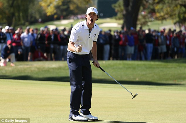 No 1: McIlroy overcame a strong challenge from Keegan Bradley