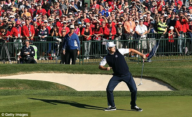 Coming up Rose's: Justin Rose won the last two holes to win a thriller against Mickelson
