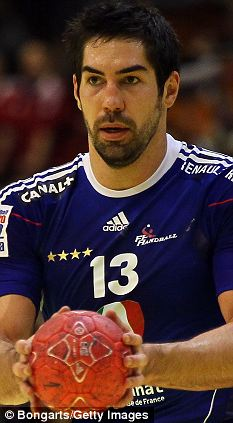 Arrested: French handball star Nikola Karabatic has been questioned by police over match fixing allegations