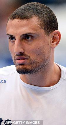 Montpellier player Wissem Hmam