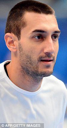 Montpellier player Dragan Gajic