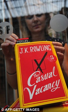 JK Rowling's The Casual Vacancy costs £9 if ordered on Amazon but the ebook version is £11.99
