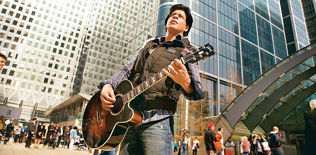 Superstar Shah Rukh Khan in stills from the song 'Challa' in Jab Tak Hai Jaan.
