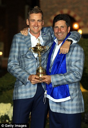 Cup crackers: Poulter and Olazabal