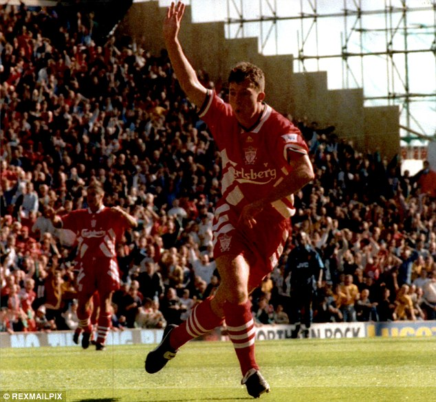 High speed hat-trick: Fowler scored a treble for Liverpool against Arsenal in four minutes and 23 seconds