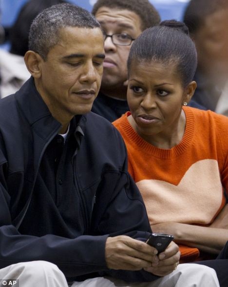 Barack Obama has continued to use his BlackBerry device since becoming president