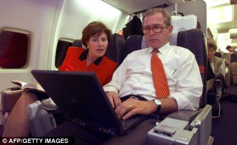 George W. Bush famously didn't use email during the eight years that he was president
