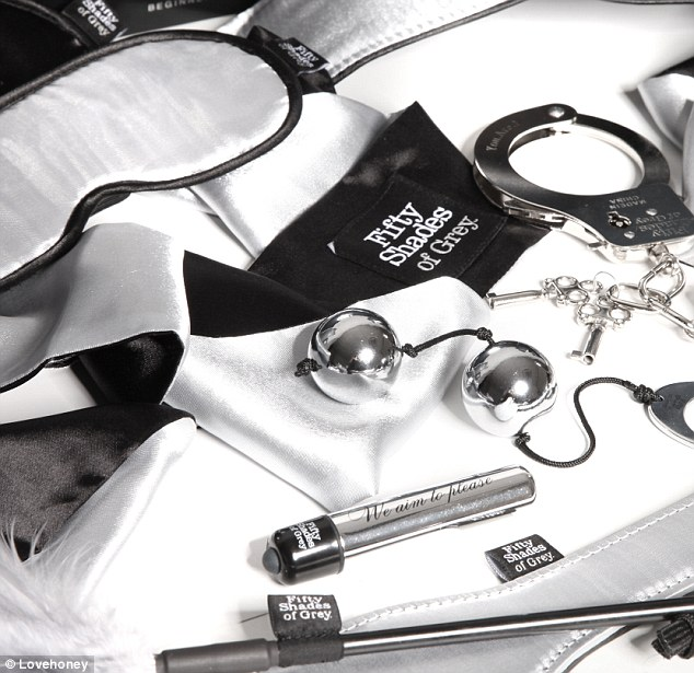 Official: Lovehoney produces the E.L James approved 50 Shades of Grey intimate accessories range