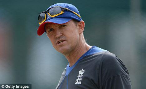 Talks: England coach Andy Flower