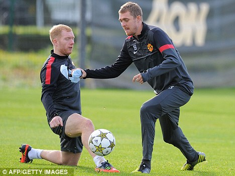 Fighting fit: Scotland have missed Darren Fletcher during his spell on the sidelines