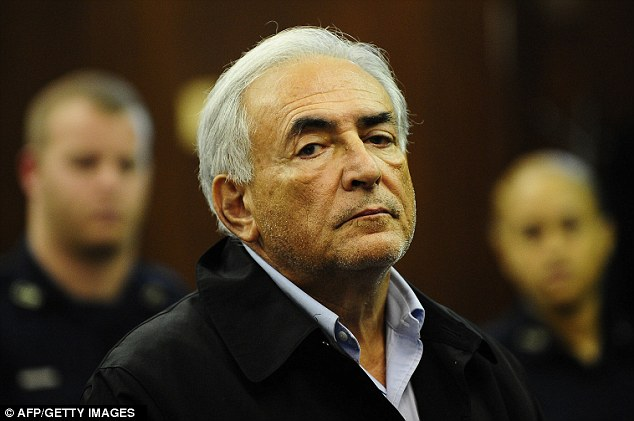 Disgraced: Former IMF chief Strauss-Kahn is still subject of a wider investigation