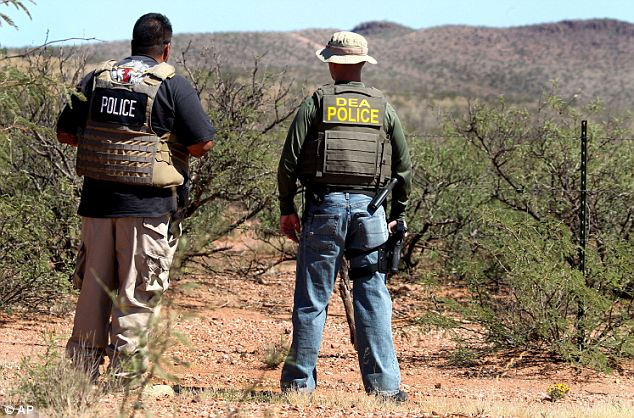 'Smuggling country': Agents from multiple government agencies worked together on the search in the rugged countryside known as a 'smuggling corridor for many, many years'